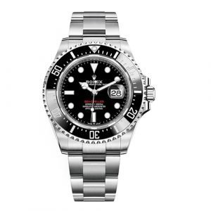ROLEX Sea-Dweller DEEPSEA 116660 G-serial Black Dial Stainless Steel Oyster Automatic Watch