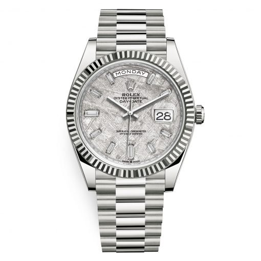 Rolex 228239 Day-Date 40 Meteorite Set with Diamonds