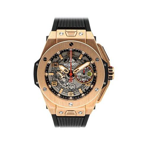 Hublot Big Bang Ferrari 18K Magic Gold Auto Skeleton Watch 401.ox.0123.vr