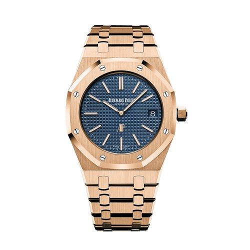 Audemars Piguet 15202ST.OO.1240ST.01A Royal Oak Extra-Thin 39 mm 18k Pink Gold Watch