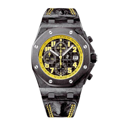 Audemars Piguet 26176FO.OO.D101CR.03 Royal Oak Offshore Automatic Chronograph Bumble Bee Men's Watch