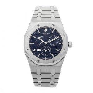 Audemars Piguet Royal Oak Dual Time Power Reserve Watch 26120ST.OO.1220ST.02
