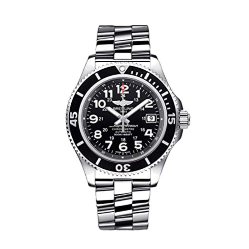 Breitling Superocean II 42 Black Dial Men's Watch A17365C9/BD67-161A Unworn