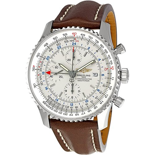 Breitling Navitimer World GMT Chronograph Watch A2432212/G571-757P