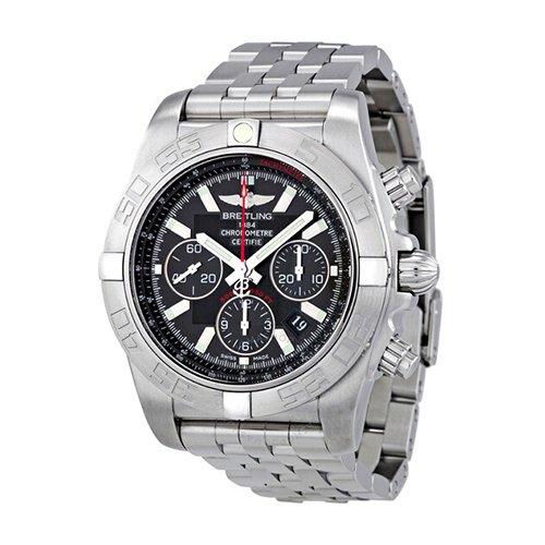 Breitling AB011010-BB08SS Chronomat B01 Flying Fish Black Dial Automatic Men's Watch