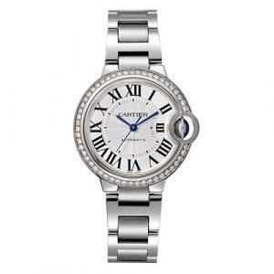 Cartier W4BB0016 Ballon Bleu 33mm Watch