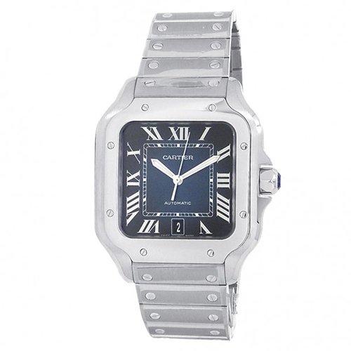Cartier Santos De Cartier WSSA0030 Blue Dial Men's Watch
