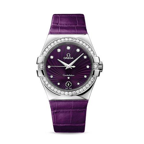 Omega Constellation Diamond Watch 123.18.35.60.60.001