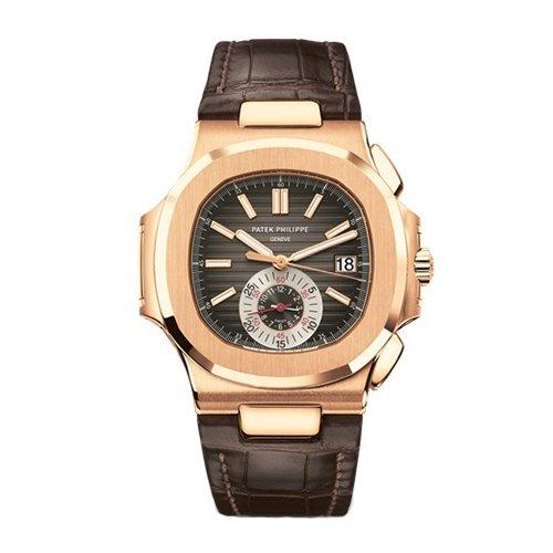 Patek Philippe 5980R-001 Nautilus Men's Rose Gold Watch