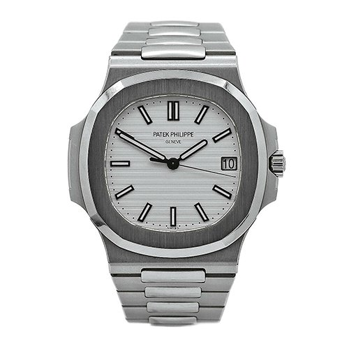 Patek Philippe 5711-1A-011 Nautilus Silver White Dial Stainless Steel Watch