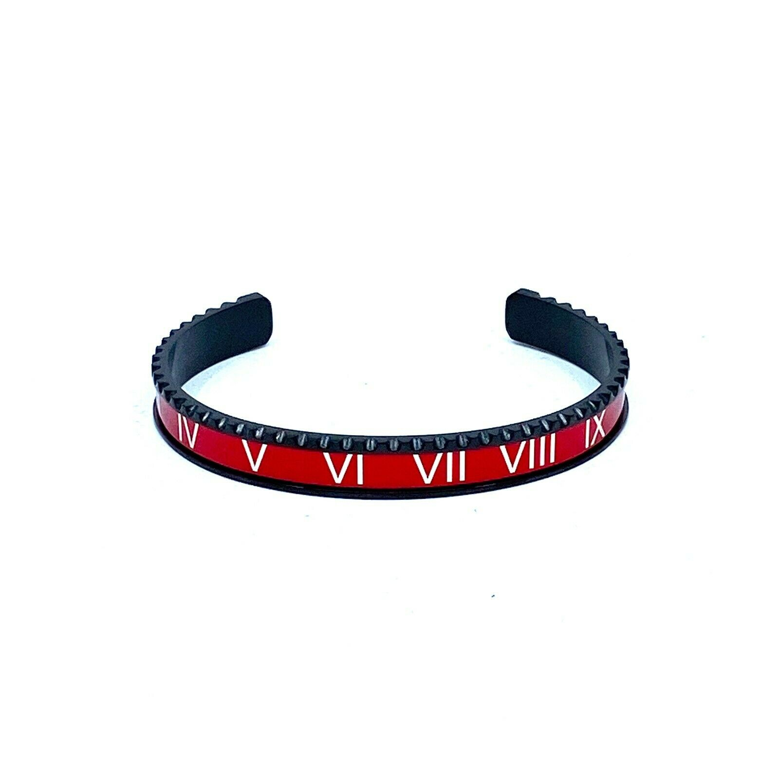 Red Speedometer Style Bracelet 1pcs Stainless Steel Watch Bangle 4 colors available