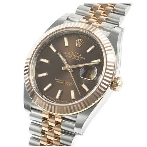 Rolex 126331 Datejust 41mm Steel And Everose Gold Oyster Bracelet Watch