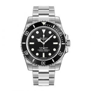 Rolex Submariner 114060 Ceramic Excellent Condition Complete box and papers