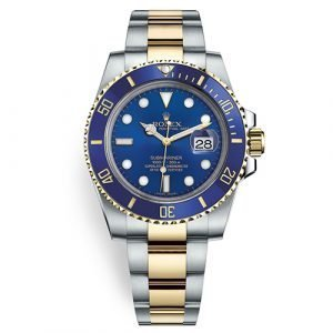 Rolex Submariner 116613LB Blue Dial Stainless Steel And 18k Yellow Gold Watch