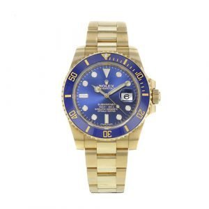 Rolex Oyster Perpetual Submariner Date Watches 116618 bl Pre-owned