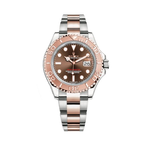Rolex Yacht-Master 116621 Scrambled 40mm 18K Everose Gold and 904L Stainless Steel Chocolate Dial Watch