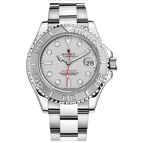 Rolex 116622 Steel Platinum Yachtmaster 40 mm Oyster Easylink Clasp Buckle