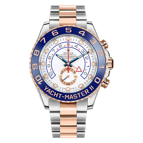 Rolex Yacht-Master II 116681 Scrambled 44mm Stainless Steel and 18k Rose Gold Pre-Owned