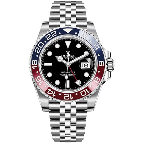 Rolex GMT Master II 126710 BLRO Pepsi SS Basel - Box & Papers!