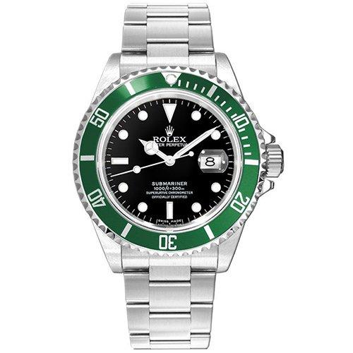 Rolex Kermit Submariner 16610LV Black Dial Watch