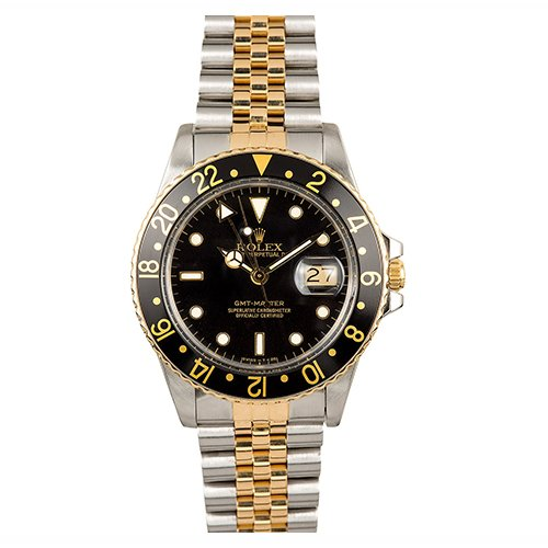 Rolex GMT-MASTER Date 16753 Two-Tone 40mm Watch - Big Watch Buyers NYC