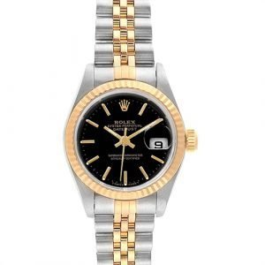 Rolex Datejust 69173 Two Tone 18K Yellow Gold & Stainless Steel WatchRolex Datejust 69173 Two Tone 18K Yellow Gold & Stainless Steel Watch
