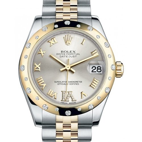 Rolex Datejust 31mm Oyster Perpetual Datejust Watch 178343 Silver Dial