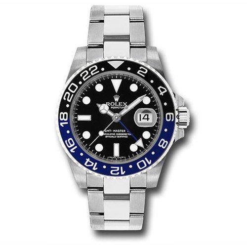 Rolex Gmt-Master II 116710BLNR 40mm Stainless Steel Batman Watch