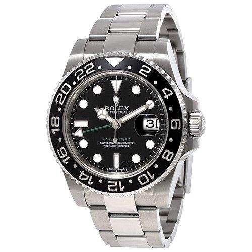 Rolex GMT-Master II 116710LN 40mm Stainless Steel Black Dial Men's Watch