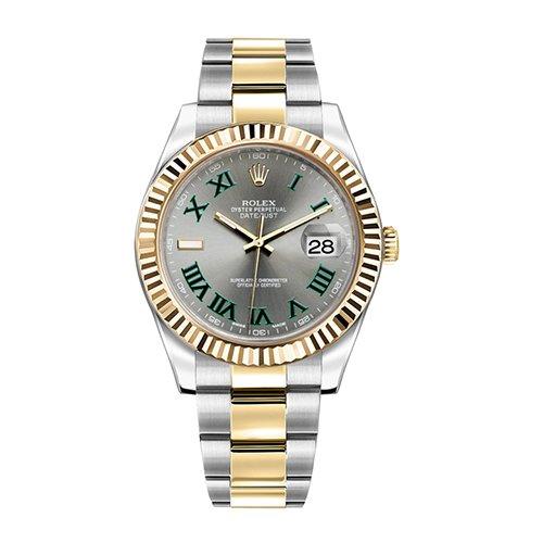 Rolex Datejust II 41 Automatic Gold & Steel Men's Watch 116333