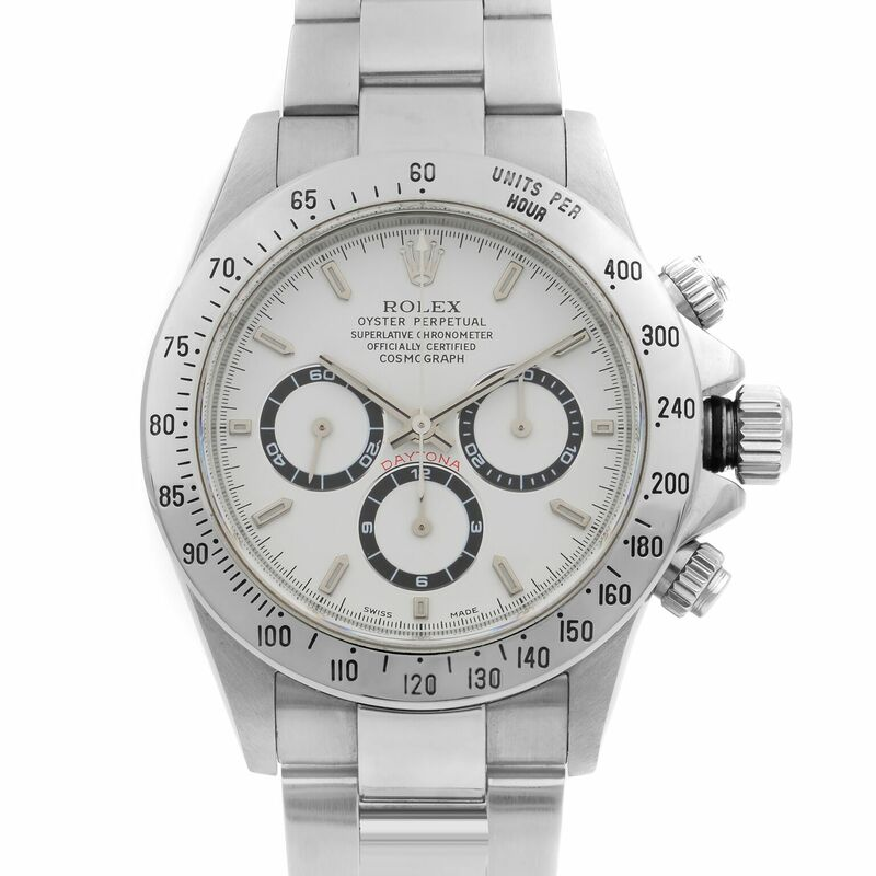 Rolex Cosmograph Daytona Zenith 16520 Complete With Box and Papers