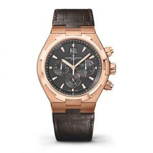 Vacheron Constantin Overseas Chronograph 49150/000R-9338 42mm 18K Pink Gold Watch