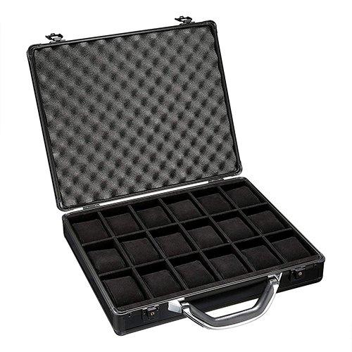 Watch Briefcase Storage for 18 Luxury Watches
