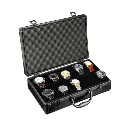 Watch Briefcase for 10 Watches - BWB