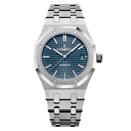 Audemars Piguet 15450ST.OO.1256ST.03 Royal Oak 37mm Blue Dial Watch