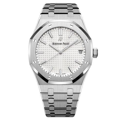 Audemars Piguet 15500ST.OO.1220ST.04 Royal Oak Selfwinding 41mm White Dial Watch