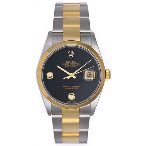 Rolex DATEJUST Two-Tone Watch 16203