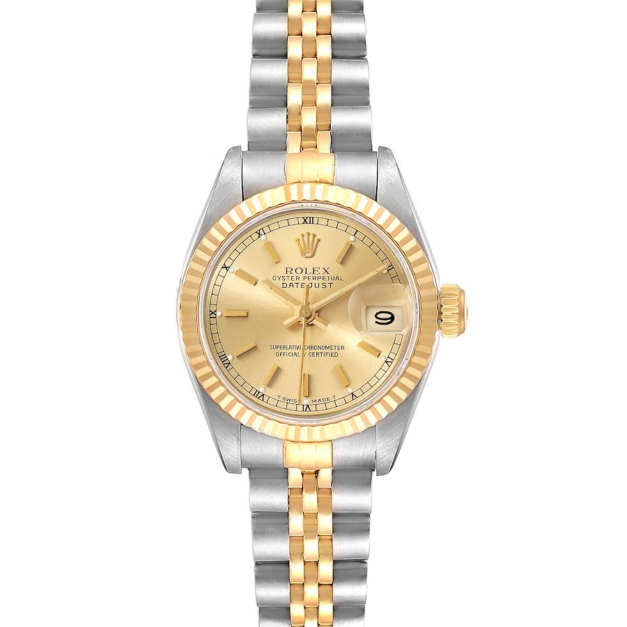 Rolex DATEJUST 69173 Champagne Dial