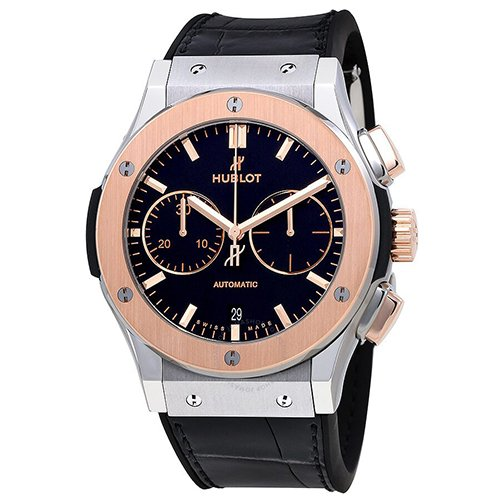 Hublot Classic Fusion Chronograph Titanium King Gold Watch 521.NO.1181.LR