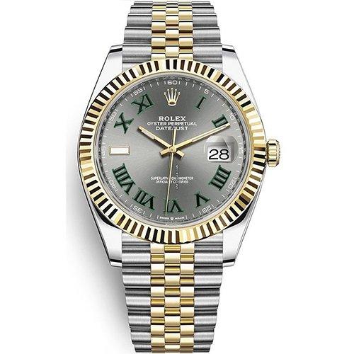 Rolex Datejust Two-Tone 41mm Watch 126333