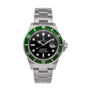 Rolex Submariner 126610LV Stainless Steel Black Dial & Green Ceramic Bezel Oyster Bracelet