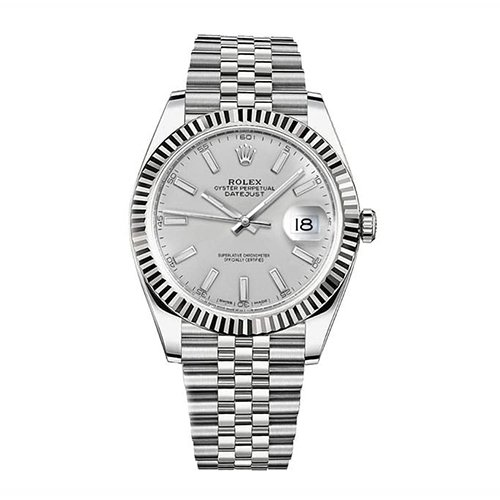 Rolex Datejust 41mm Stainless Steel Watch 126334