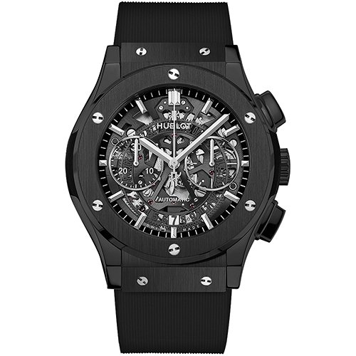 Hublot Classic Fusion Aerofusion Chronograph 45mm Watch 525.CM.0170.RX Black Magic