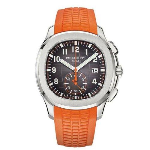 Patek Philippe 5968A-001 Aquanaut Chronograph Steel & Orange Rubber