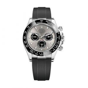 Rolex Daytona 18k White Gold Ceramic Bezel Mother Of Pearl Diamond Watch 116519LN