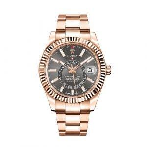 Rolex Sky-Dweller 326935 Everose Gold 42mm Watch
