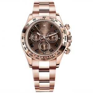 Rolex Daytona Everose Gold Cosmograph 40mm Watch 116505