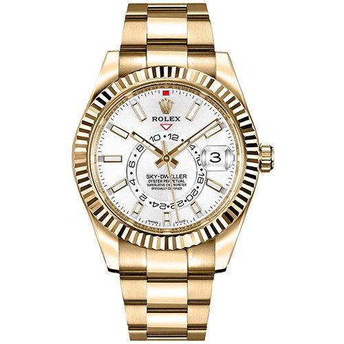 Rolex Sky-Dweller 326938 42mm White Dial Watch
