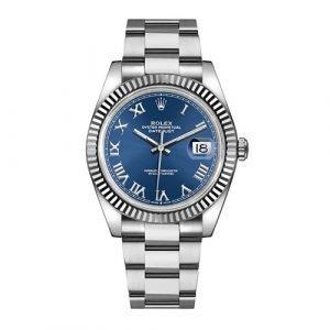 Rolex DATEJUST 126334 41mm Blue Dial Oyster Bracelet Watch
