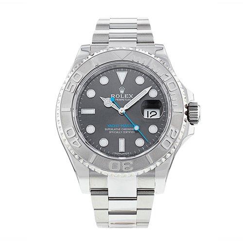 Rolex Yacht-Master 40 Dark Rhodium Dial 116622 Steel And Platinum Oyster Men's Watch